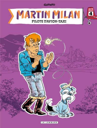 Couverture Martin Milan - intégrale tome 4