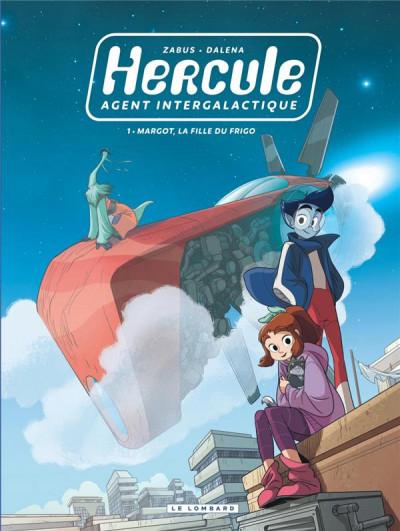 Couverture Hercule, agent intergalactique tome 1
