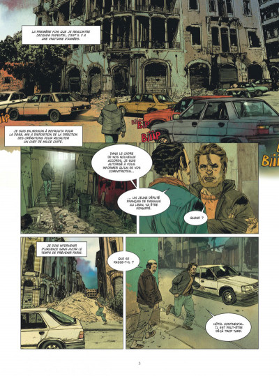 Page 2 Deux hommes en guerre tome 1 + ex-libris offert