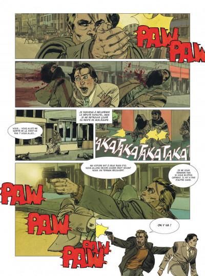 Page 4 Deux hommes en guerre tome 1 + ex-libris offert