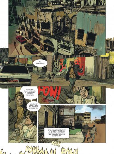 Page 6 Deux hommes en guerre tome 1 + ex-libris offert