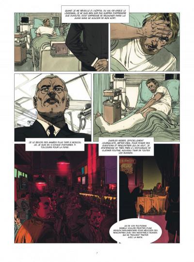 Page 7 Deux hommes en guerre tome 1 + ex-libris offert
