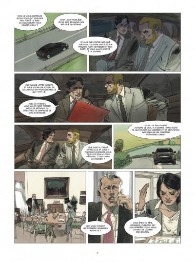 Page 8 Deux hommes en guerre tome 2