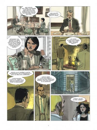 Page 9 Deux hommes en guerre tome 2