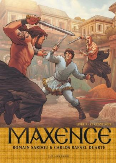 Couverture Maxence tome 3