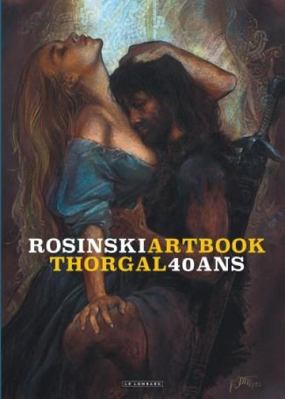 Couverture Thorgal artbook