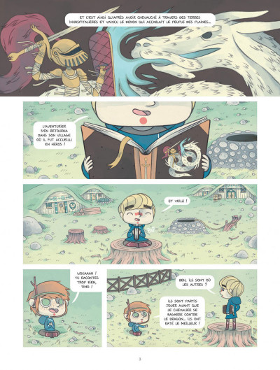 Page 3 Timo l'aventurier tome 1