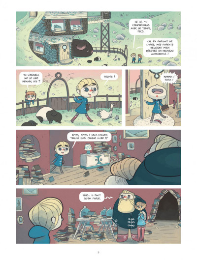 Page 5 Timo l'aventurier tome 1