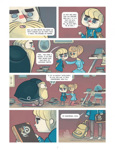 Page 7 Timo l'aventurier tome 1