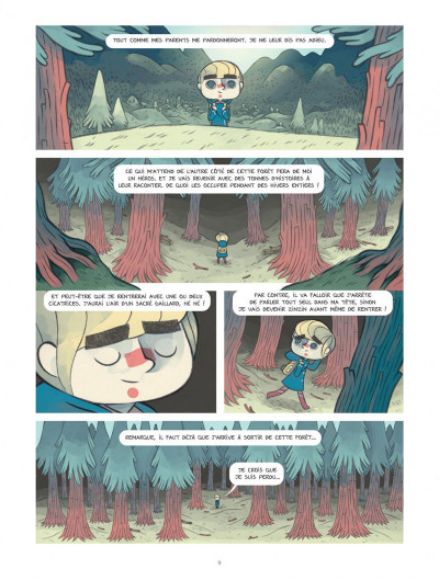 Page 9 Timo l'aventurier tome 1