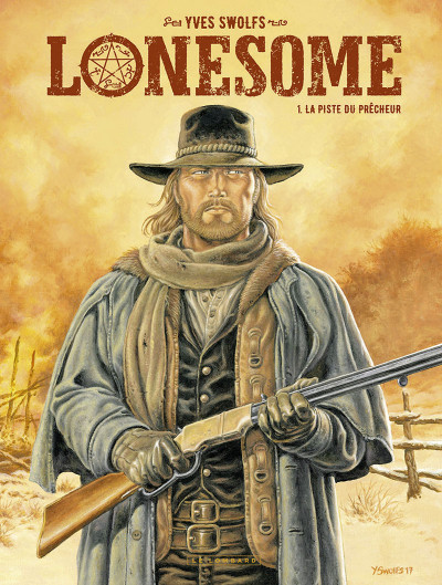 Couverture Lonesome tome 1 + ex-libris offert