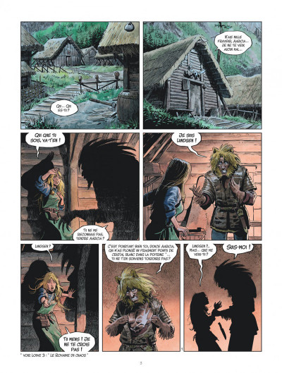 Page 3 Les mondes de Thorgal - Louve tome 7