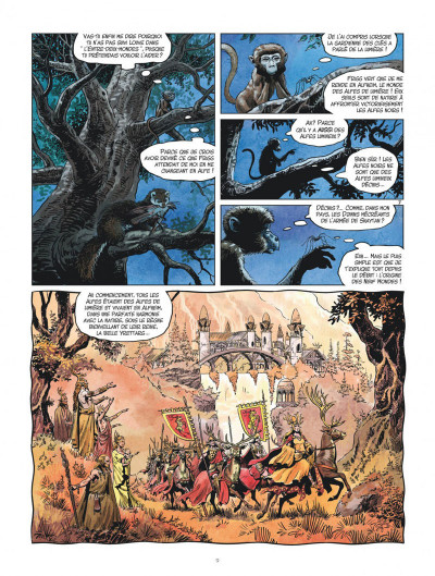 Page 9 Les mondes de Thorgal - Louve tome 7