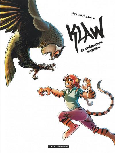 Couverture Klaw tome 7