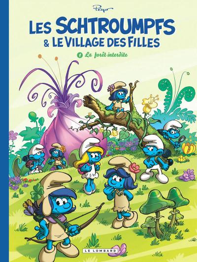 Couverture Les Schtroumpfs & le village des filles tome 1