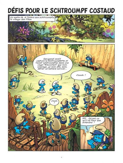 Page 4 Les Schtroumpfs & le village des filles tome 1