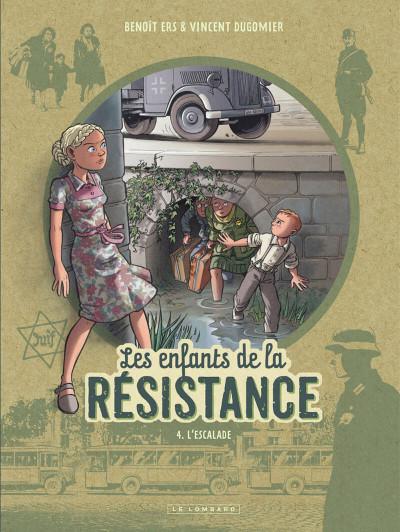 Couverture Les enfants de la résistance tome 4