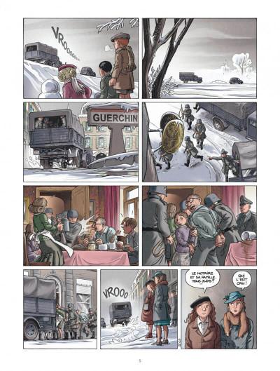Page 5 Les enfants de la résistance tome 4