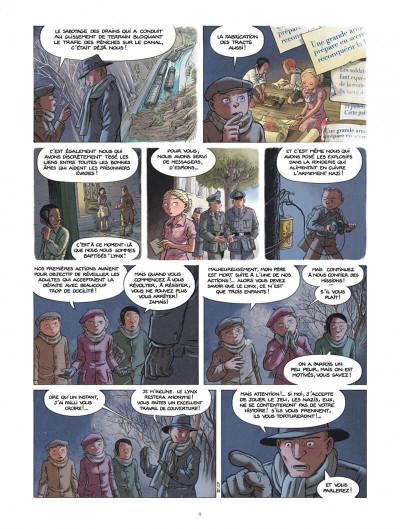 Page 9 Les enfants de la résistance tome 4