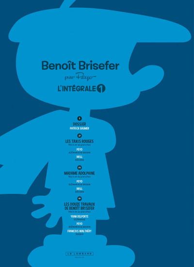 Page 3 Benoit Brisefer - intégrale tome 1