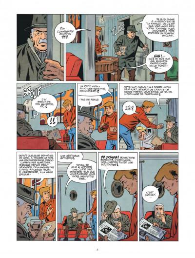 Page 8 Les nouvelles enquêtes de Ric Hochet tome 3