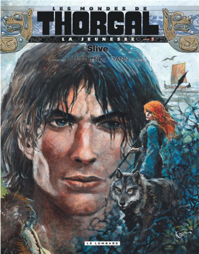 Couverture Les mondes de Thorgal - la jeunesse de Thorgal tome 5 - Slive