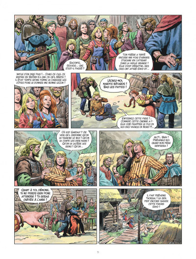 Page 5 Les mondes de Thorgal - la jeunesse de Thorgal tome 5 - Slive