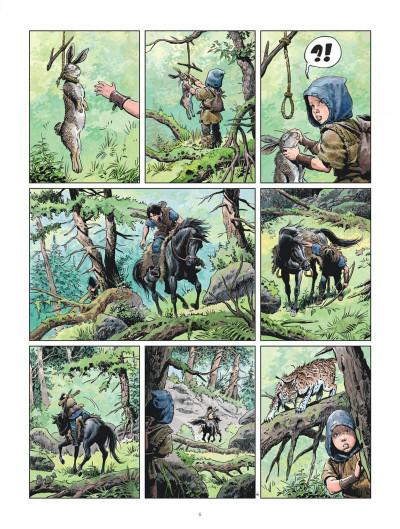 Page 6 Les mondes de Thorgal - la jeunesse de Thorgal tome 5 - Slive