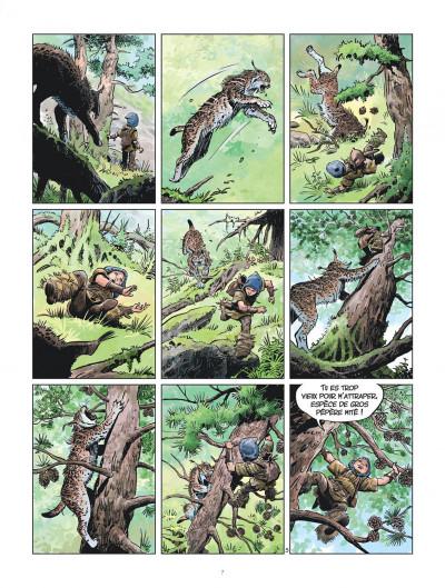 Page 7 Les mondes de Thorgal - la jeunesse de Thorgal tome 5 - Slive