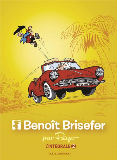 Couverture Benoit Brisefer - intégrale tome 2