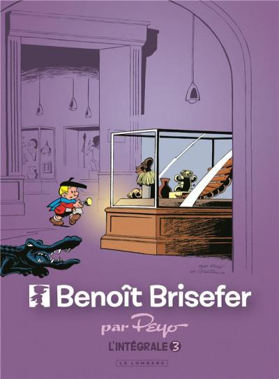 Couverture Benoît Brisefer - intégrale tome 3