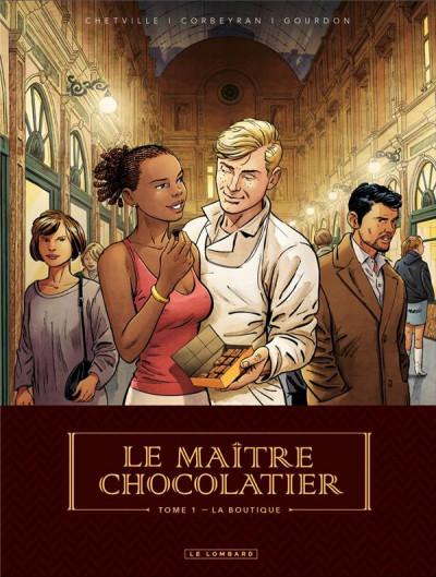Couverture Le maître chocolatier tome 1