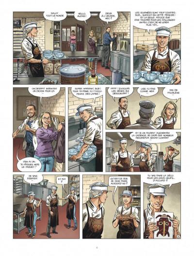 Page 5 Le maître chocolatier tome 1