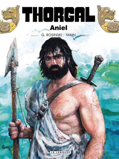 Couverture Thorgal tome 36 - Aniel