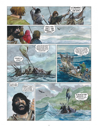 Page 6 Thorgal tome 36 - Aniel