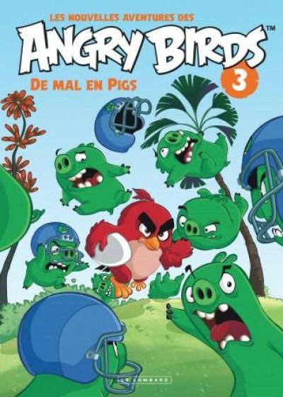 Couverture Les nouvelles aventures d'Angry Birds tome 3