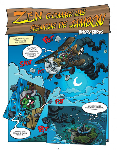 Page 3 Les nouvelles aventures d'Angry Birds tome 3