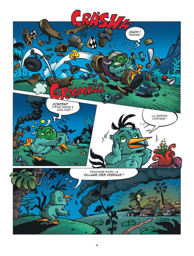 Page 4 Les nouvelles aventures d'Angry Birds tome 3