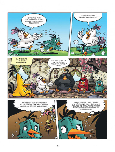 Page 6 Les nouvelles aventures d'Angry Birds tome 3