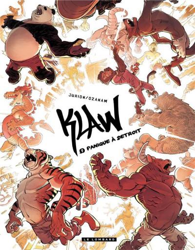 Couverture Klaw tome 9