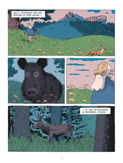 Page 4 Hubert Reeves nous explique tome 2 - La forêt