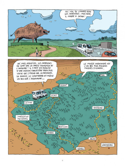 Page 6 Hubert Reeves nous explique tome 2 - La forêt