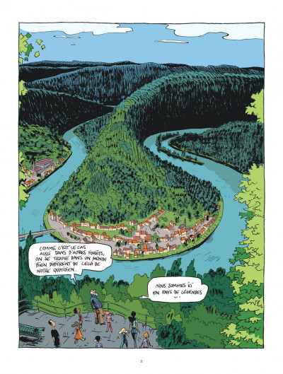 Page 8 Hubert Reeves nous explique tome 2 - La forêt