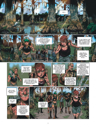 Page 2 Green class tome 1
