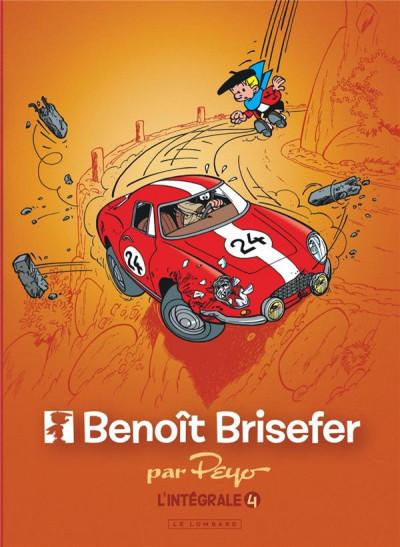 Couverture Benoît Brisefer - intégrale tome 4