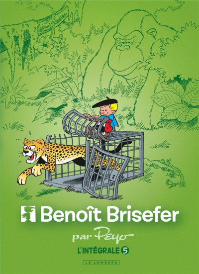 Couverture Benoît Brisefer - intégrale tome 5