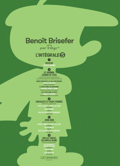Page 2 Benoît Brisefer - intégrale tome 5