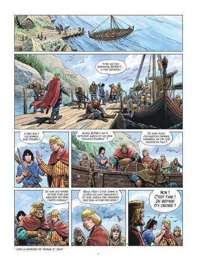 Page 9 Les mondes de Thorgal - La jeunesse de Thorgal tome 6