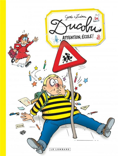 Couverture Ducobu tome 24