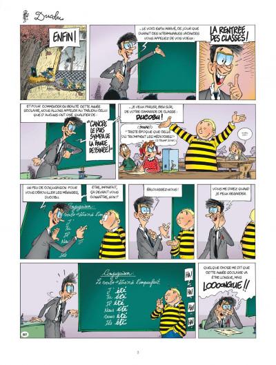 Page 3 Ducobu tome 24